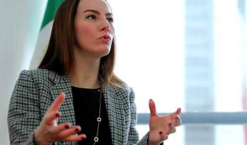 Gabriela Cuevas le revira al PAN que tiene una dirigencia mezquina