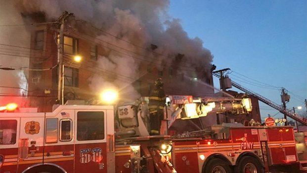 Nuevo incendio en Nueva York deja 12 heridos