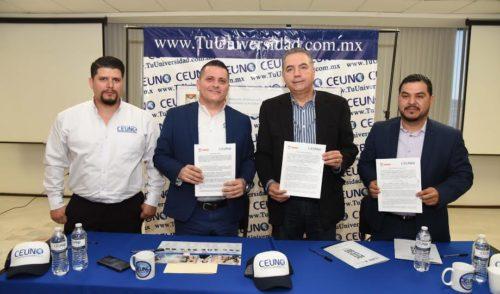 Firma Comisión de Desarrollo Económico y Turístico convenio con CEUNO