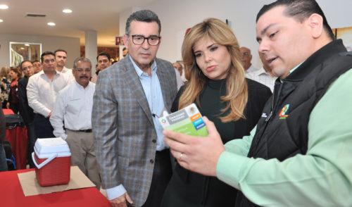 Inicia Gobernadora Pavlovich acciones por un Sonora sin Polio y esquemas de vacunación