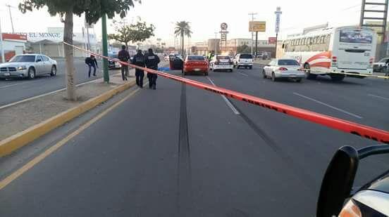 Fallece hombre al ser impactado por un vehículo en el Solidaridad