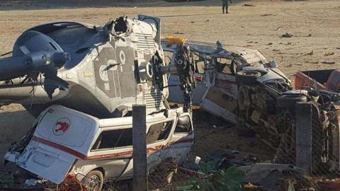 Dan de alta a heridos por caída de aeronave