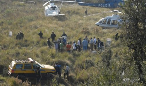 Persiguen tragedias aéreas a funcionarios
