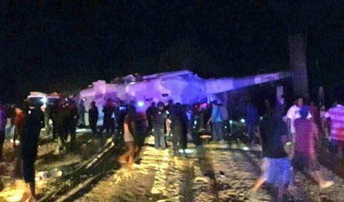 Confirman 13 muertos por desplome de helicóptero