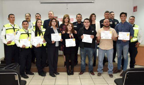 Se capacitan empleados municipales como Monitores en Seguridad Vial
