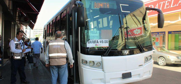Mantendrá Transporte inspecciones en período vacacional
