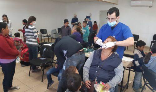 Acerca Secretaría de Salud servicios al Poblado Miguel Alemán