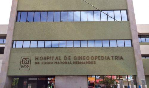 Médicos del IMSS retiran tumor a recién nacida en Sonora