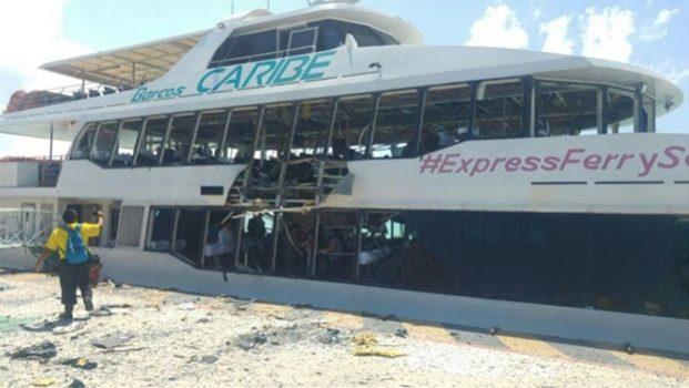 Bombazo en ferry sería dirigido a papá de Borge