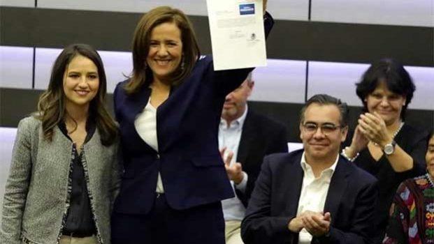 Gobierno Federal, detrás de candidatura de Margarita Zavala: PRD
