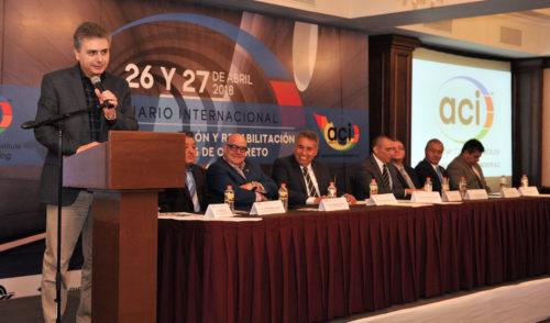 Inaugura Titular de SIDUR Seminario Internacional del Concreto