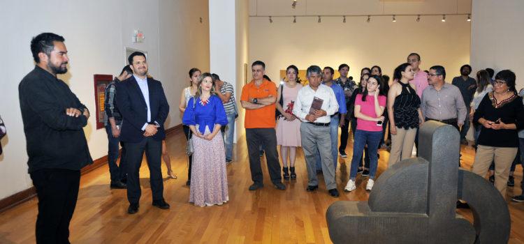 Inauguran exposición de Vicente Rojo en Musas