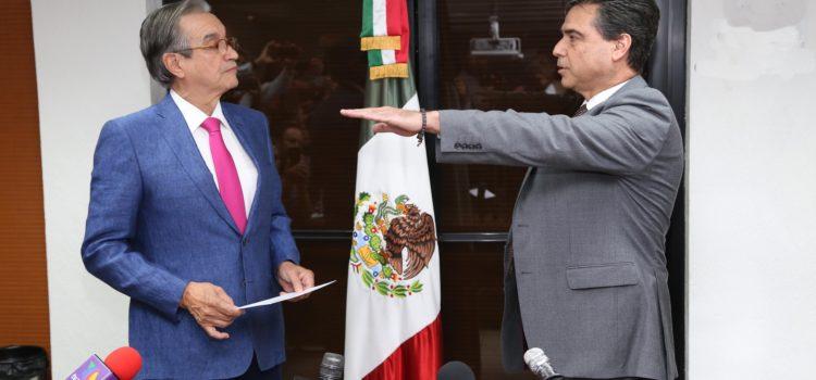 Rinde protesta Armando Ceceña Salido como Coordinador de Turismo