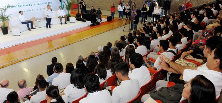 Lanza ISJUVENTUD convocatoria Premio Estatal de la Juventud 2018