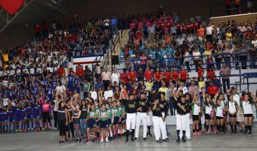 Inaugura José Víctor Guerrero Juegos Deportivos Estatales Escolares de la Educación Básica 2017-2018