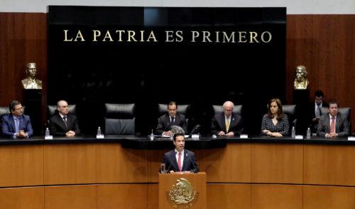 El senado rinde homenaje al IMSS por 75 años de ser el seguro de México