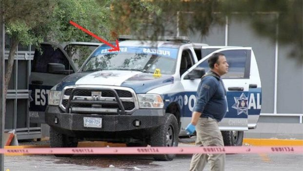 Ataque armado contra convoy de Javier Corral