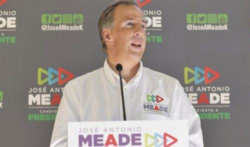 Sólo Meade reporta a tiempo gasto de campaña: INE