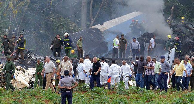 Tripulación de avión que cayó en Cuba era mexicana