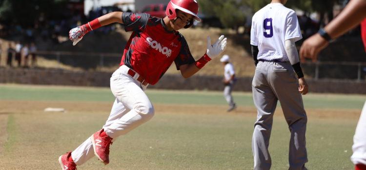 Es Sonora el rey del diamante en la Olimpiada Nacional de beisbol pre-junior.