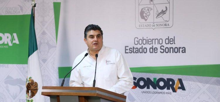 Denuncia Secretario de Gobierno actos de sabotaje en Sonora