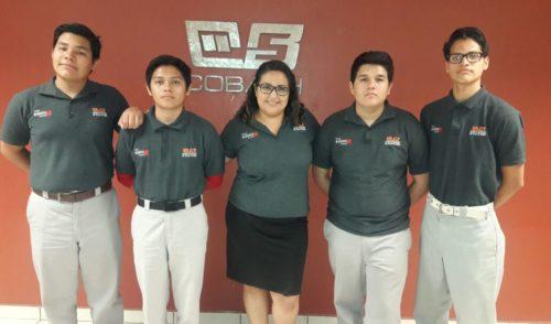 Logran estudiantes de Cobach primer y segundo lugar nacional en Young Business Talents 2017- 2018