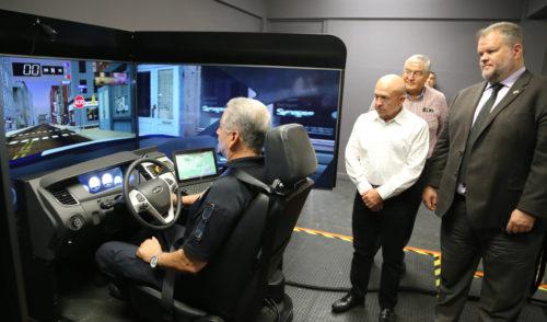 Capacita SSP con Simulador Virtual de Manejo a cadetes y policías estatales