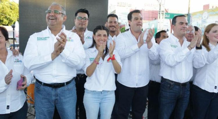 Fortalecerán propuestas candidatos locales: Sylvana Beltrones