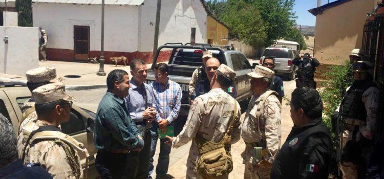 Acuerdan Sonora y Chihuahua fortalecer coordinación para combatir delitos en sus fronteras