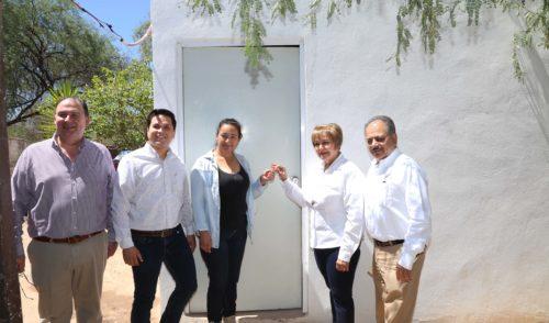 Entrega SEDESSON viviendas dignas en El Zacatón