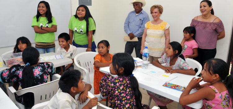 Fomenta DIF Sonora sano esparcimiento y recreación en comunidades Guarijías