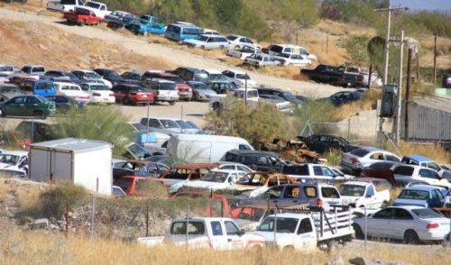 Subastará Gobierno del Estado vehículos y piezas automotrices