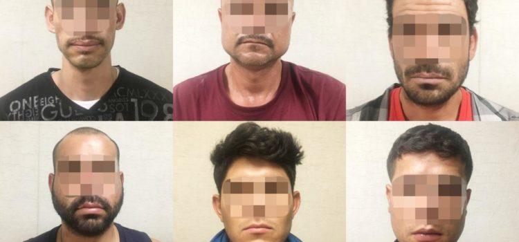 Detienen a seis personas tras cateo den la colonia La Metalera