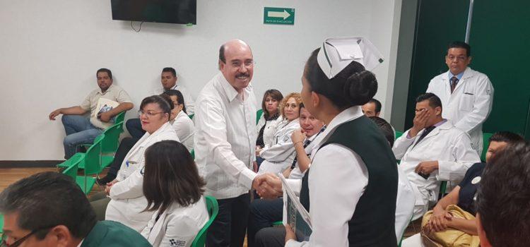 Delegado del IMSS en Sonora supervisa operación del nuevo Hospital de zona de Nogales