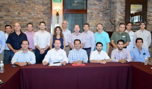 Ernesto De Lucas expone ante Cámaras Empresariales plan de seguridad