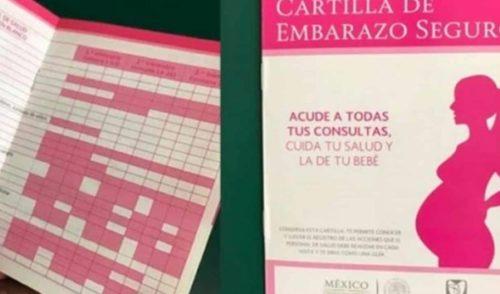 IMSS tiene nueva cartilla para embarazadas
