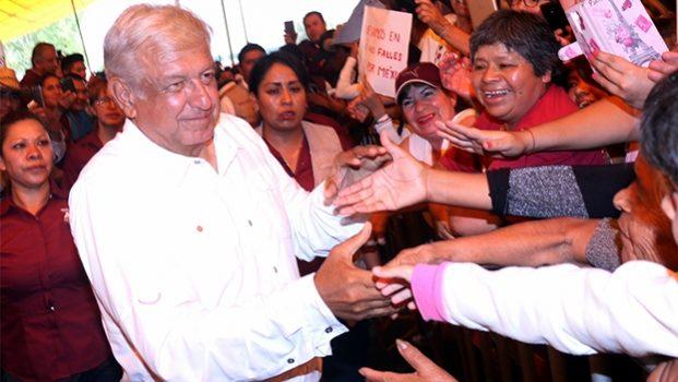 AMLO promete combatir pobreza para enfrentar inseguridad