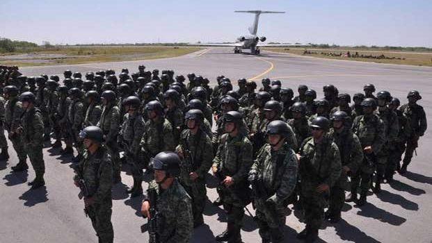 Relevan a 500 militares en Reynosa para combate al crimen