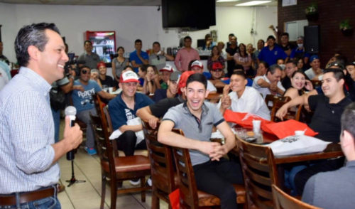 """""""En mi gobierno, usuarios del transporte serán prioridad"""": Ernesto De Lucas"""