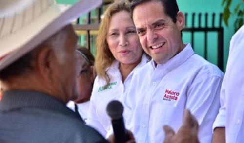 Piden a Maloro Acosta llevar a Cajeme programa EnCausa