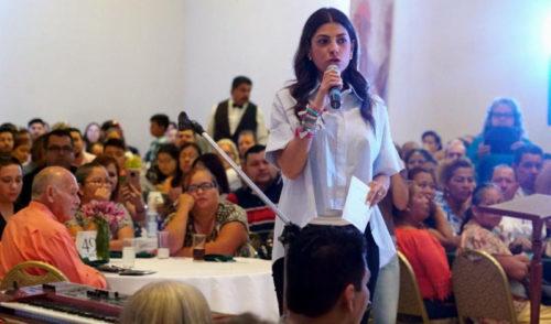 Llama Sylvana Beltrones a trabajo en equipo a favor de Sonora