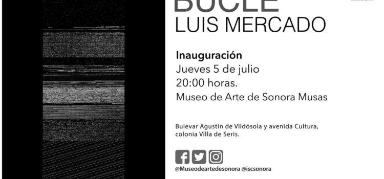 Mostrarán en MUSAS exposición BUCLE de Luis Mercado