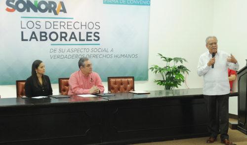 Promueven Secretaría del Trabajo y CEDH un mejor ambiente laboral en Sonora