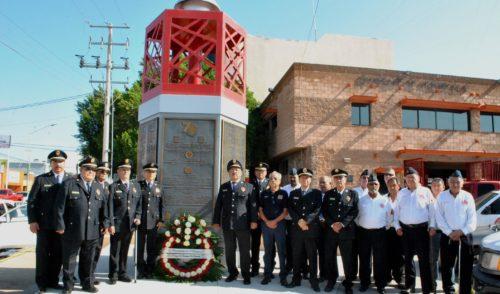 Conmemoran fundación del Departamento de Bomberos de Hermosillo