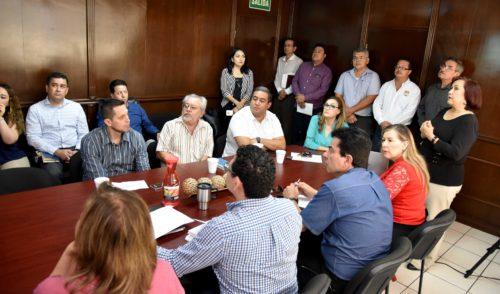 Visita Comisión Mixta Sindicatura y Asuntos Jurídicos