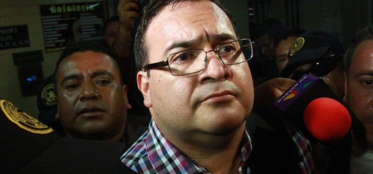 Pudiera Javier Duarte pueda enfrentar proceso en libertad