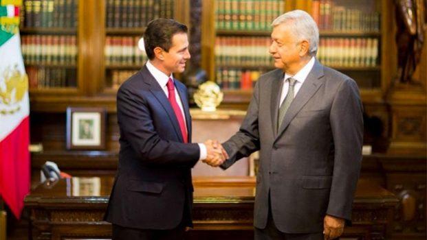 Se reunirán EPN y AMLO en el Palacio Nacional