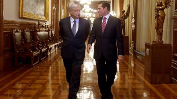 Encabezan AMLO y EPN reunión con Gabinetes