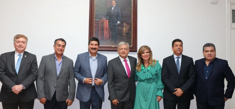 Se reúne Gobernadora Pavlovich con el Presidente Electo López Obrador