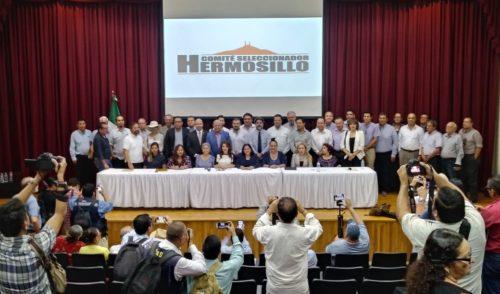 Presenta comité seleccionador ternas a alcaldesa electa